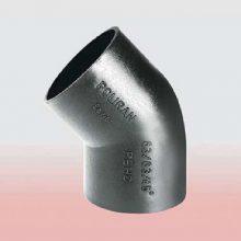 زانو جوشی ۴۵° پلی اتیلن ۱۶۰ × ۱۶۰ میلیمتر (پلی ران)