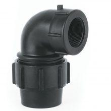 زانو ماده پلی اتیلن ۱٫۲ ۱ × ۵۰ میلیمتر (آب لوله بسپار)