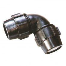 زانو پلی اتیلن ۷۵ × ۷۵ میلیمتر (اصفهان پلاست)